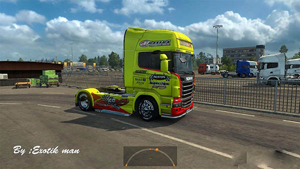 Scania Racing truck