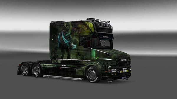 Scania T Longline Illidan Skin