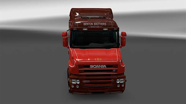 Scania T series Benton Brothers skin