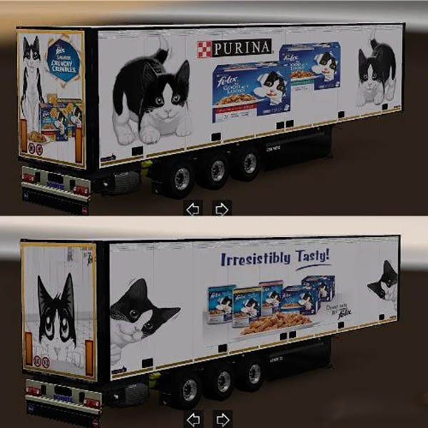 Schmitz trailer pet food