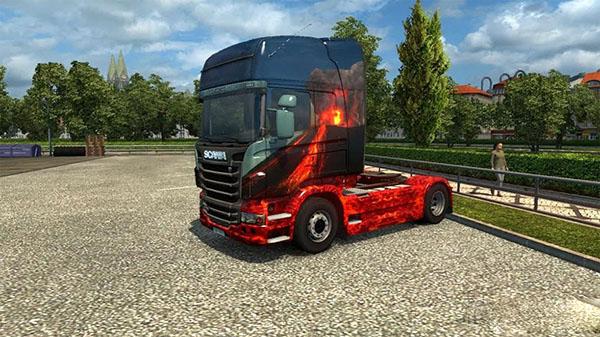 Skin Volcano for Scania
