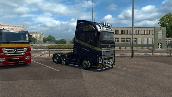 Volvo FH 2012 Dyce Carriers Ltd. Skin