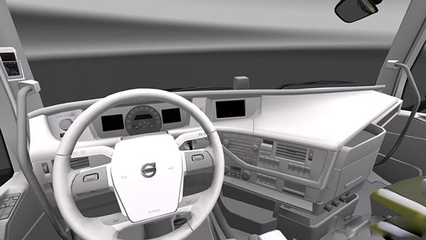 Volvo FH 2012 White Interior