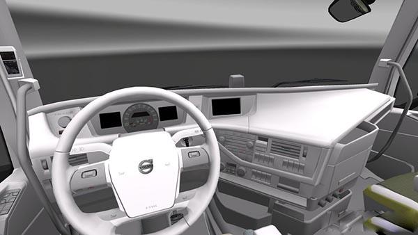 Volvo FH 2012 White Interior