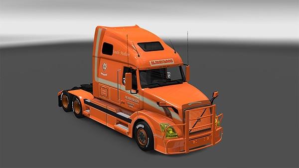Volvo VNL 670 M.Way Son skin