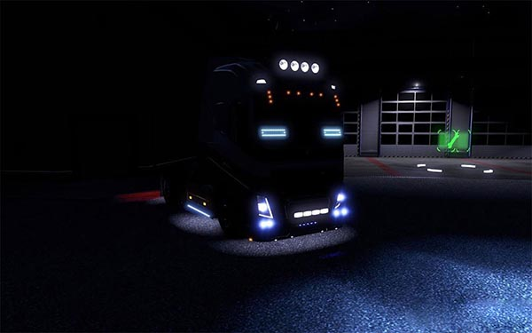 Blue Xenon Lights for all Trucks v 3.0