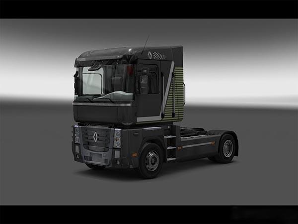 Custom skin for Renault Magnum