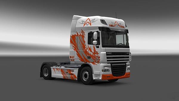 DAF XF Diesel Power Skin