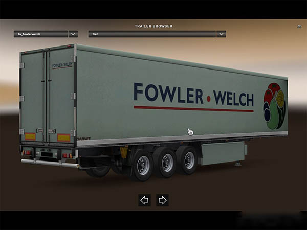 Fowler-Welch trailer