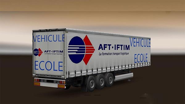 French Truck School Pack