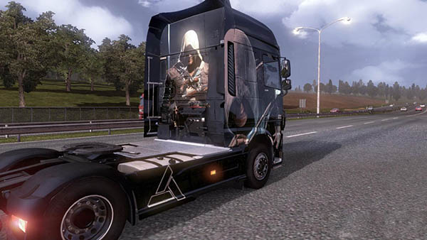 Scania Assassins Creed Skin