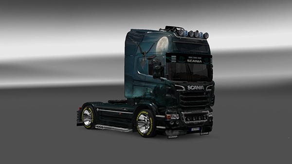 Scania R 2009 Raven Skin