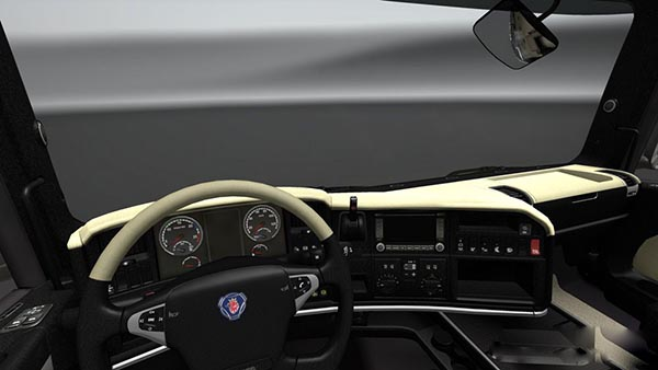 Scania R Cream Interior