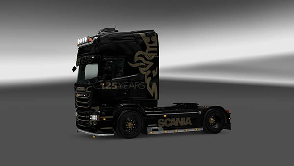 Scania RJL 125 Years Skin