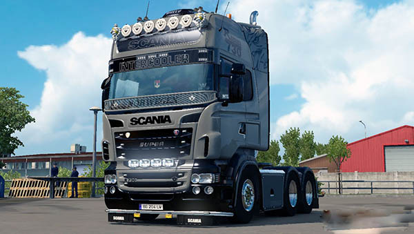 Scania RJL Norwegen Skin