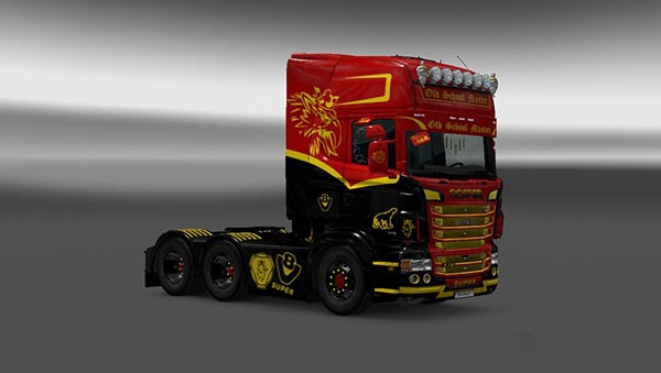Scania RJL Old School Master Skin