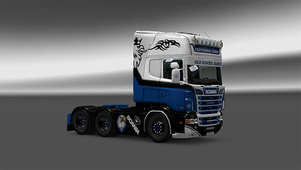 Scania RJL Old School Queen Skin
