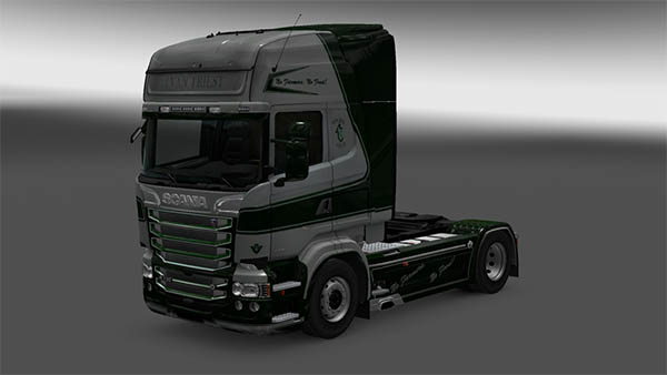 Scania Van Triest Skin Pack