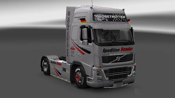 Volvo FH16 2009 Spedition Bender Skin